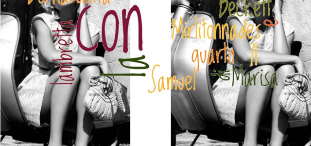 La Stimmung di Marisa Aino con Samuel Beckett, Mirlitonnades │a V.S. Gaudio, che nel rombo di Lacan al (-φ) gli fa fare il trapezio│   Il peggio, dicesti, […]