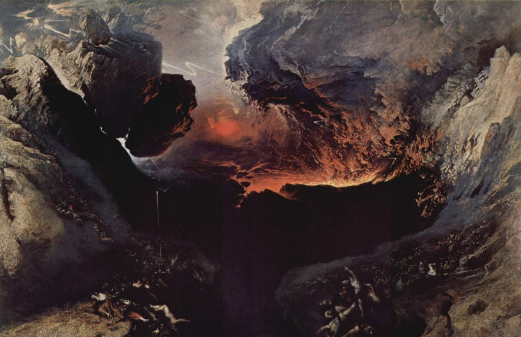 © J. Martin, La fine del mondo, 1853