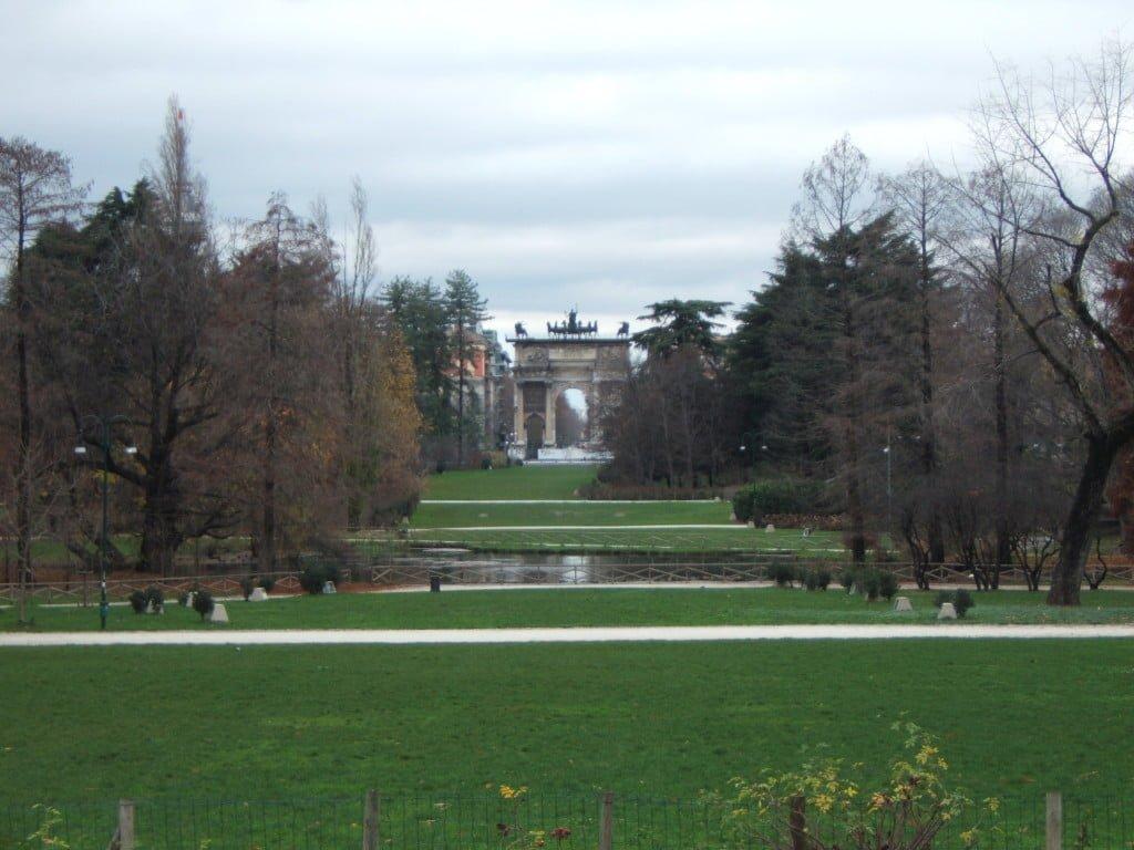 Arco della Pace a Milano