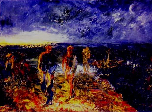 © Jack Yeats, Men of Destiny,1945