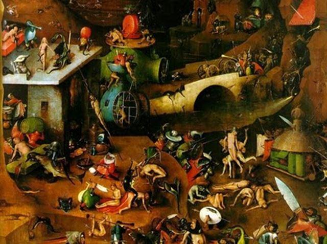 © H. Bosch, Inferno, 1510