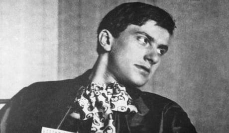 Советский поэт Владимир Маяковский