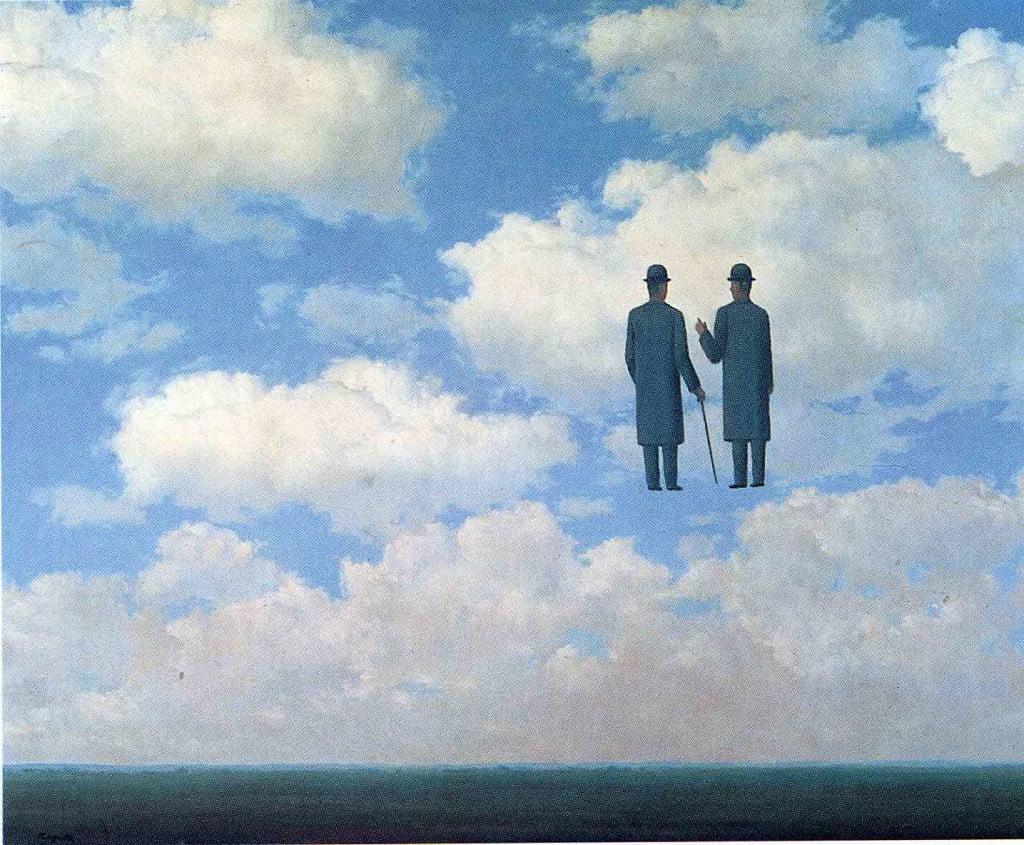 R. Magritte, La reconnaissance infinie, 1963