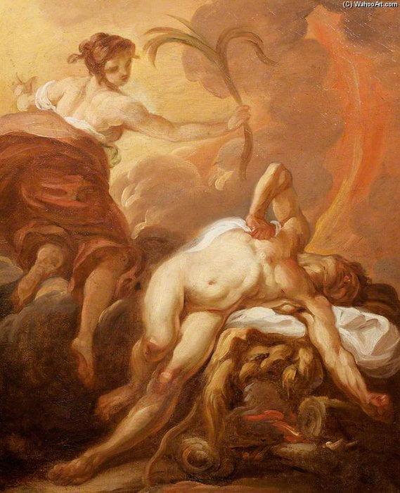 Jean Baptiste Deshays, Morte di Ercole (1729-1765)